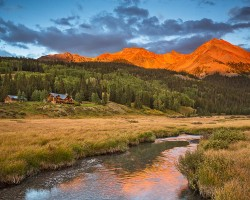 Ragland property, Trout Lake, Telluride, Colorado.