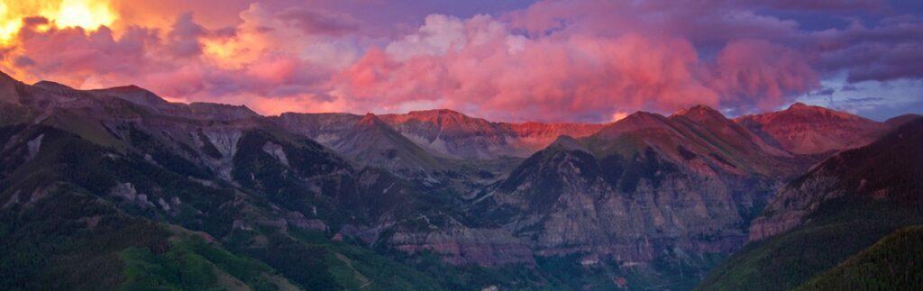 Mountain Peaks - Wide