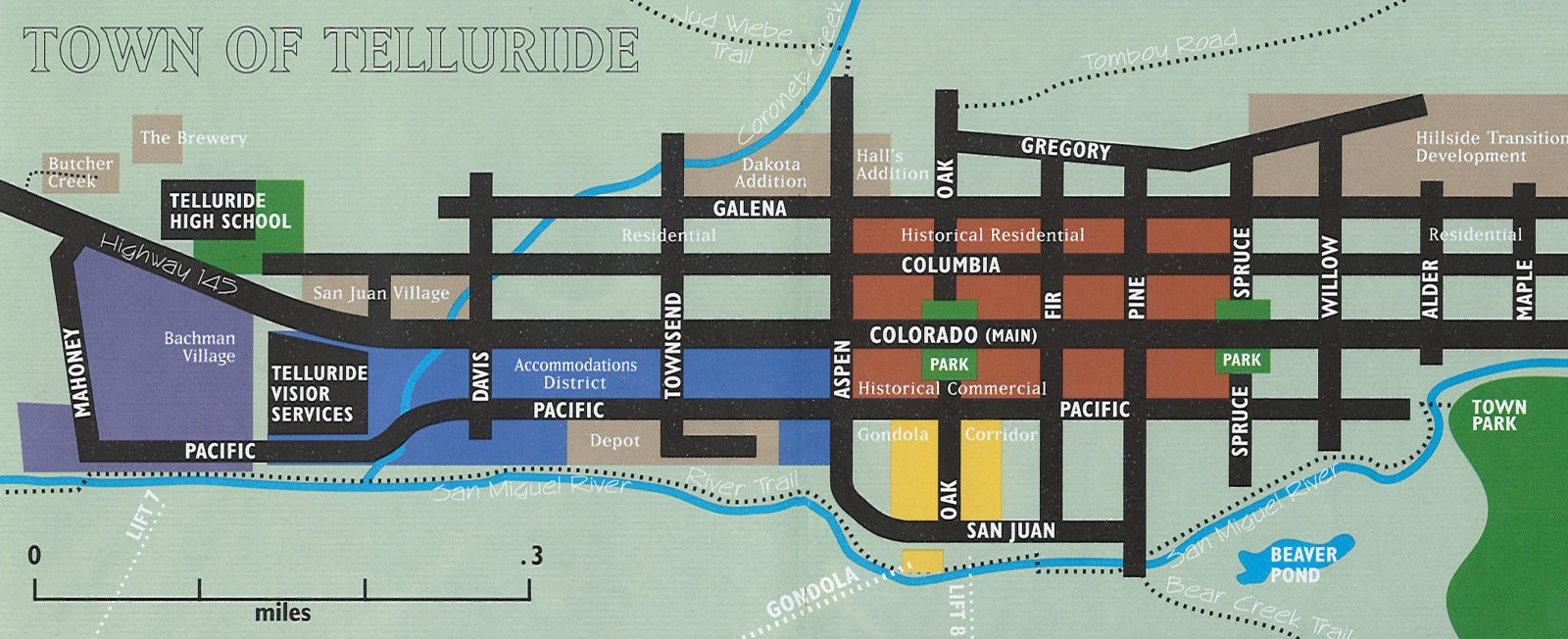 Ray's Telluride Map