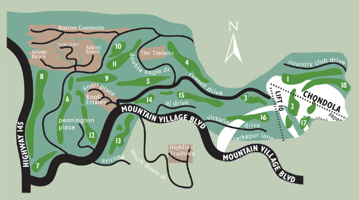 Ray's mtn_village_map_golf_course